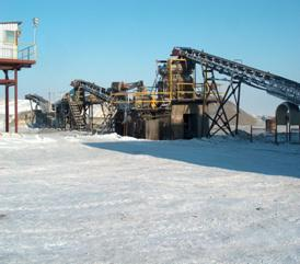 Suzdalskoe deposit JSC «Fik Alel», ragging production facility of the ore-processing plant